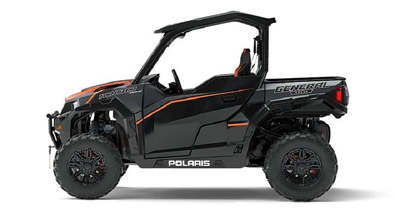 Мотовездеход POLARIS GENERAL 1000 EPS Deluxe Titanium Matte Metallic
