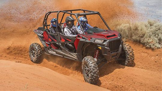 Мотовездеход RZR XP 4 Turbo EPS Fox Edition фото